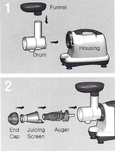 Cold Press Juicer Omega 8006 : Cold press juicer